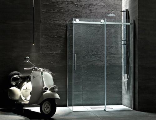 Colonna doccia in acciaio ceramiche grimaldi - Cabina doccia muratura ...